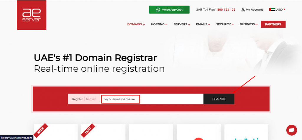 ae-domain-registrar